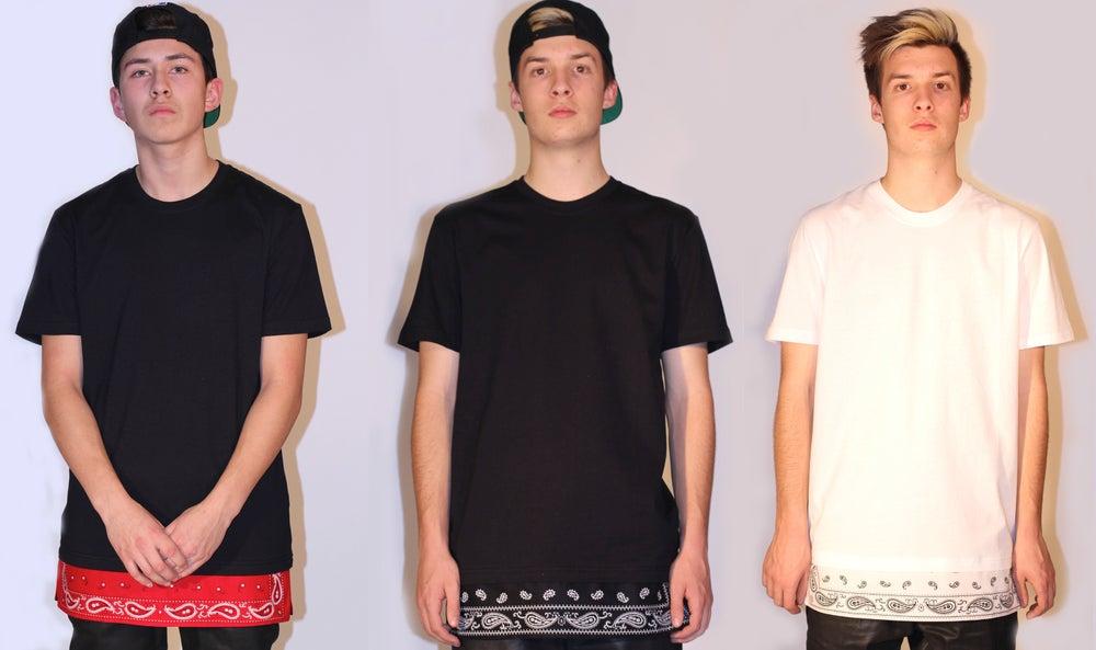 Image of Oversized Bandana Extension T-Shirt