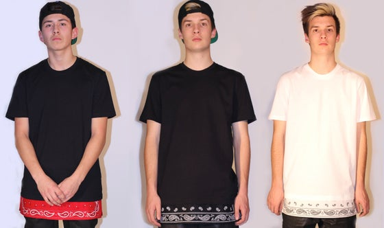 Image of Oversized Bandana Extension T-Shirt