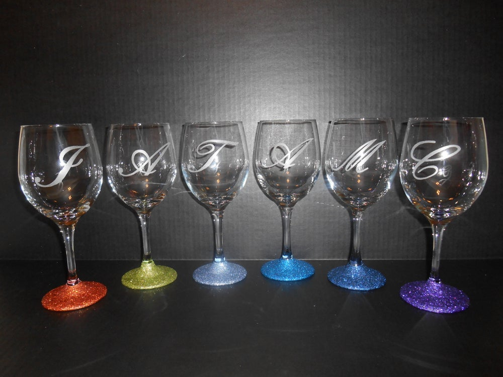 Gifts And Mo Glitter Glasswear