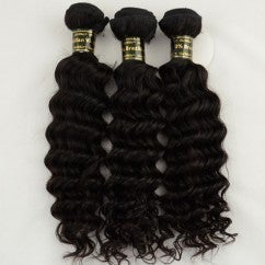 "Image of (3) 16"" DEEP WAVE  BUNDLES AND 14 CLOSURE GRADE 5A"