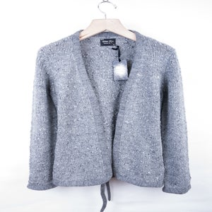 Image of Number (N)ine - FW09 Belted Boucle Yarn Cardigan