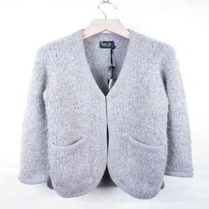 Image of Number (N)ine - FW09 Mohair Knit Boucle Yarn Cardigan