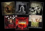 Image of BEHEADING MACHINE / LEVEL ABOVE HUMAN / REPULSIVE DISSECTION / BERSERK REVOLT / REDRUM.. CDs