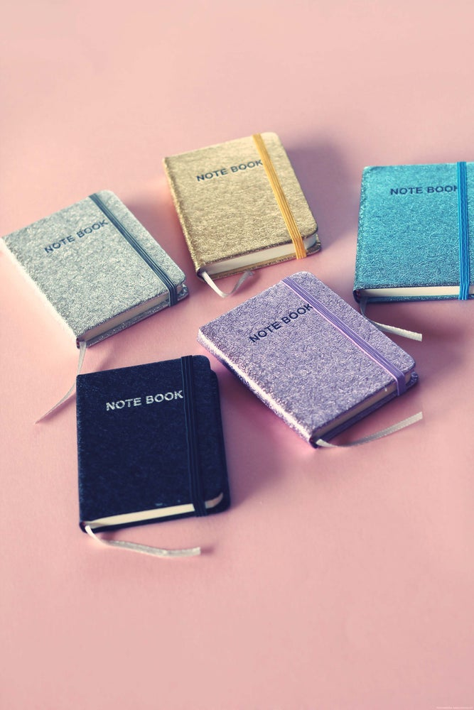 Image of Mini Glitter Notebooks
