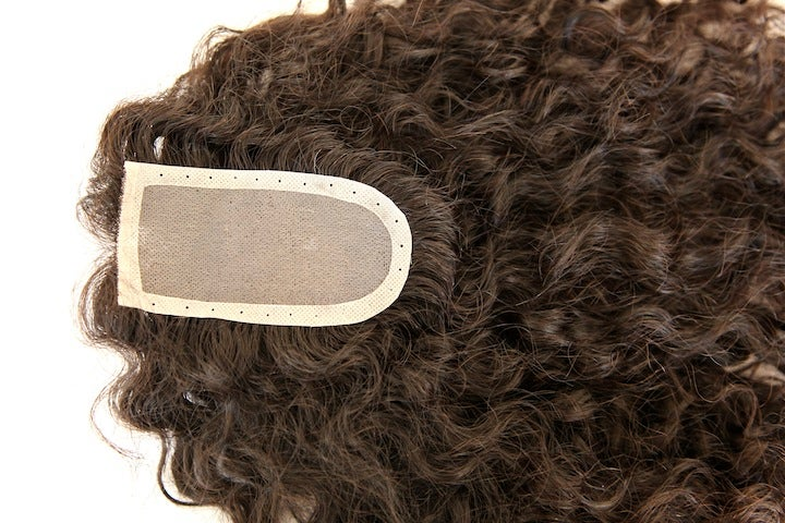 Image of Curly Lace Closure