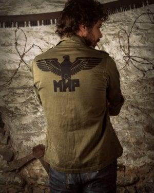 "Image of SH52 [KOPPEN] Vintage ""VET"" Re-Purposed BDU Jacket/Shirt"
