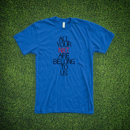 Image of The Seemingly Sublime Motivational Blue Tee