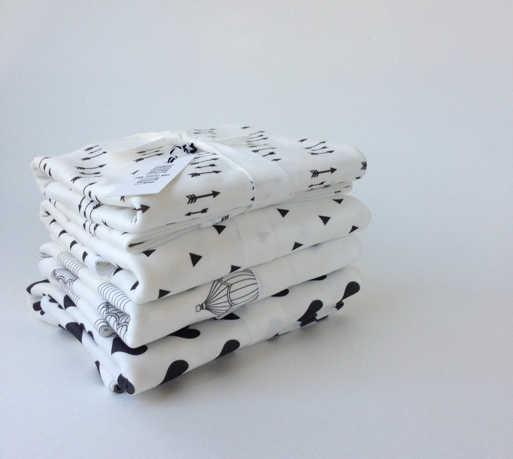 Image of organic cotton baby blanket