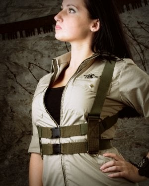 Image of SH63 [DROP ZONE] Reconstructed Military Flight Harness