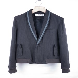 Image of Robert Geller - Textured Wool Dinner Jacket