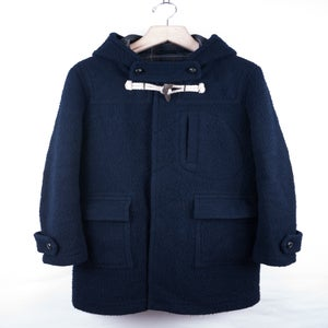 Image of Number (N)ine - FW08 Nub Wool Duffle Coat