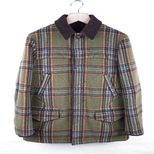 Image of Number (N)ine - FW08 Shaggy Plaid Mackinow Jacket