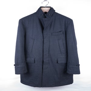 Image of Engineered Garments - Quilted Glenn Check Chesterfield Coat