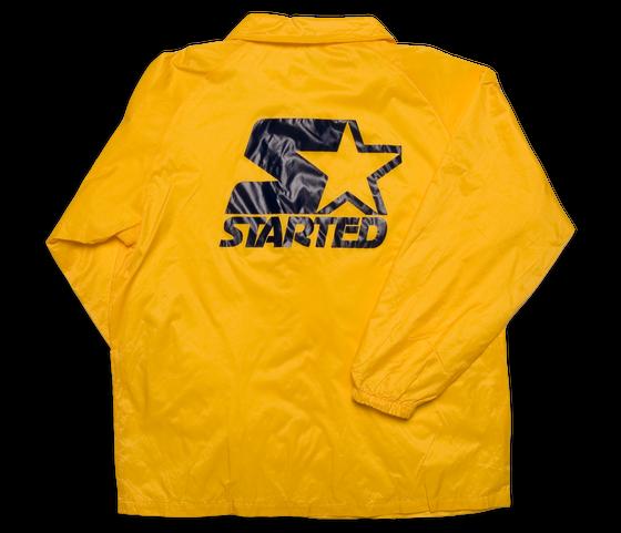 """Image of Chuck Inglish """"StarteD"""" Coaches Jacket"""
