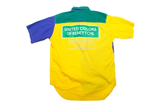 Image of VINTAGE BENETTON FORMULA 1 SHIRT