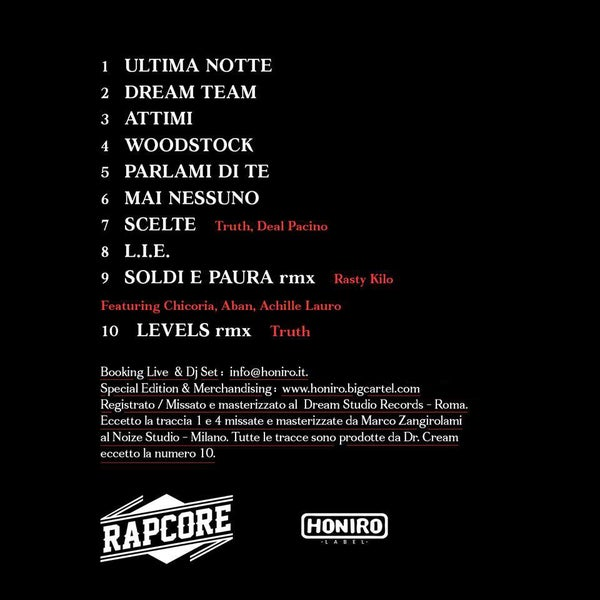 RAPCORE - DREAM TEAM - HONIRO STORE