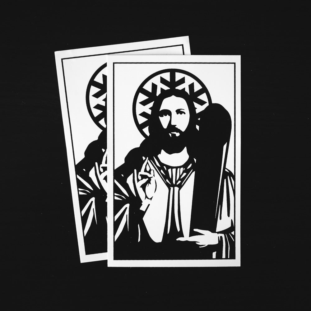 Image of Church of Powder Day Saints Sticker - Pack of 2