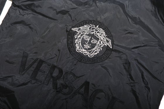 Image of VINTAGE VERSACE BLACK TRACK JACKET