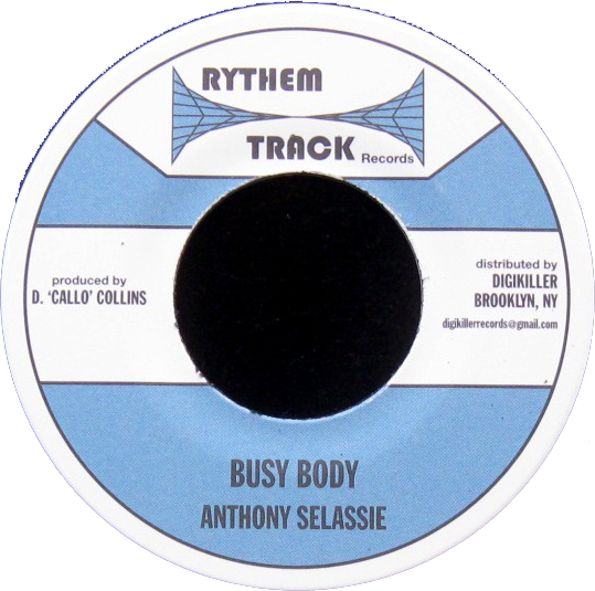 "Image of Anthony Selassie - Busy Body 7"" (Rythem Track)"
