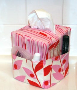Image of Sew Easy Tissue Caddy pdf Sewing Pattern