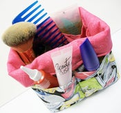 Image of Mini Organizer Basket with 12 Pockets pdf Sewing Pattern