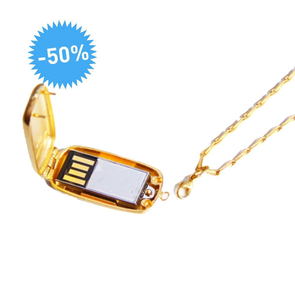 Mini-Médaillon USB - Emily Rothschild