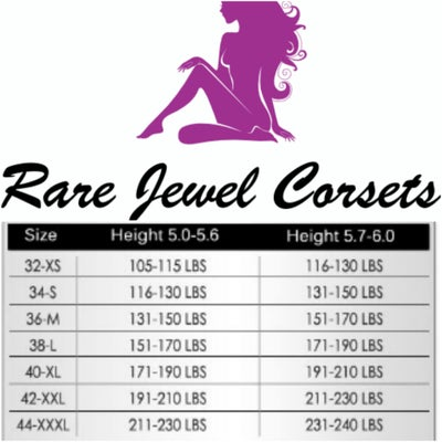 Image of RARE JEWEL SIZE CHARTS