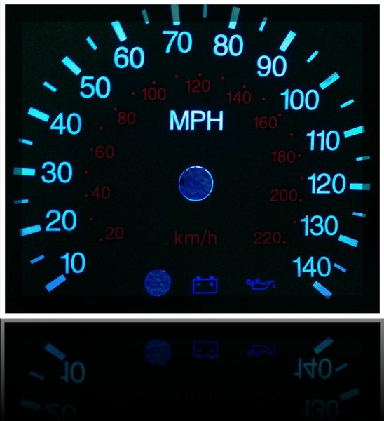 Image of Ford Focus 2000-2007 LED Gauges, w/ or w/o Tach