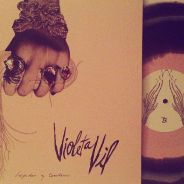"""Image of VIOLETA VIL """"Lapidas y Cocoteros"""" YC04"""