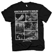 Image of ADDICTION DESTROYS FAMILIES SHIRT (ALL PROFIT GOES TO THE NSPCC)