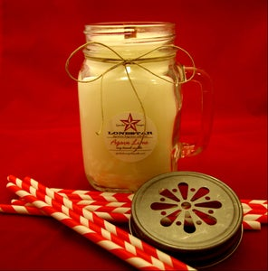 Image of Moonshine Mason Jar Soy Candle