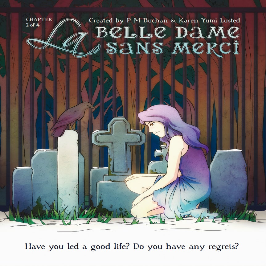 Image of La Belle Dame Sans Merci - 2 of 4 (PRINT EDITION)