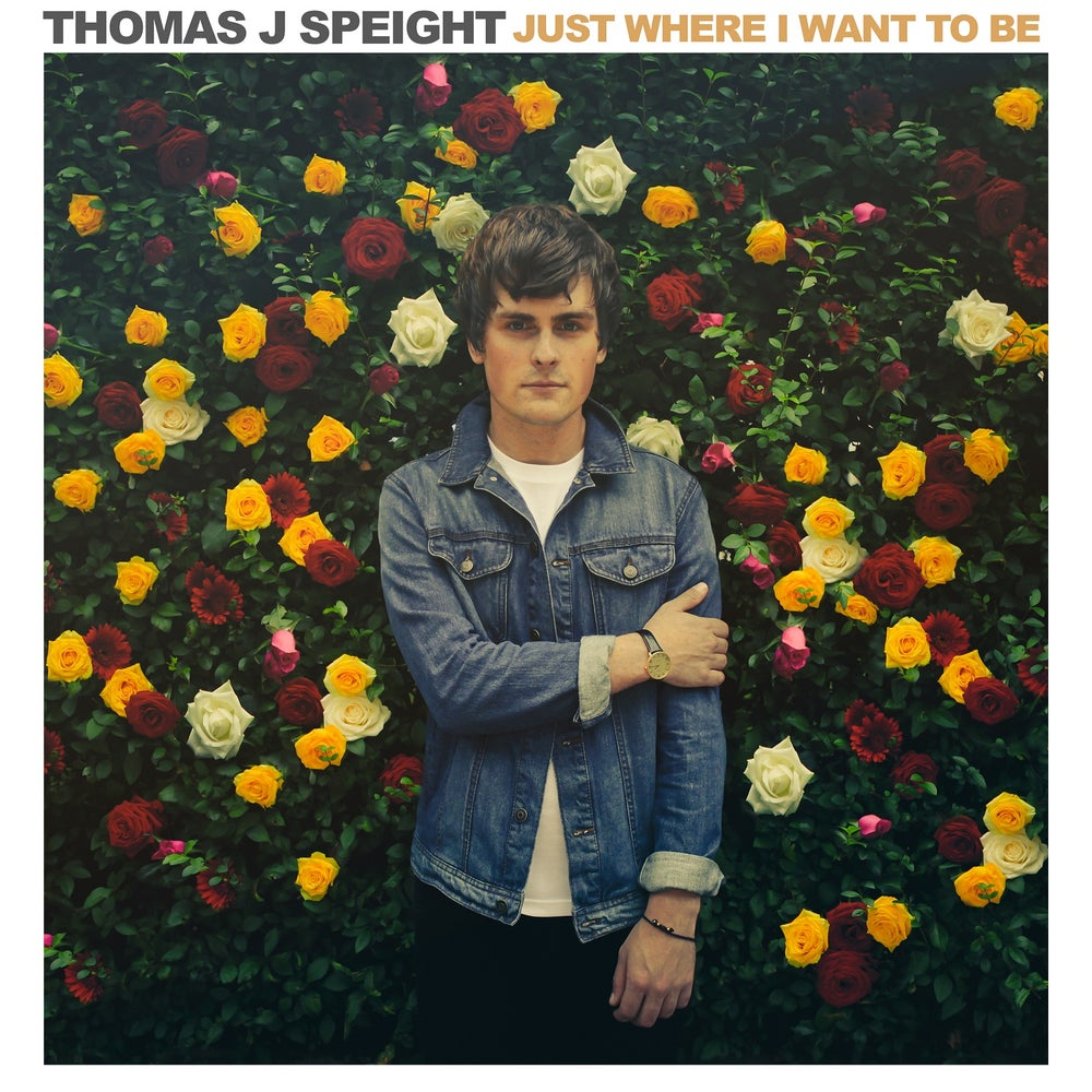 """Image of Thomas J Speight - """"Just Where I Want To Be"""" Single - Frosted White 7"""" - (KMRLP023)"""