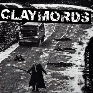 Image of CLAYMORDS CD SCUM OF THE EARTH