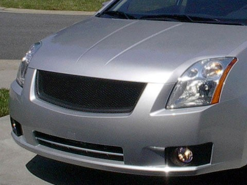 Image of (B16) 07-12 Sentra Front Sports Mesh Grill (2.0, 2.0 S, and 2.0 SL)