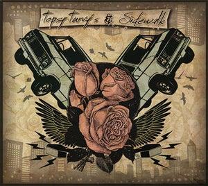 Image of Topsy Turvy's - Sidewalk - split CD