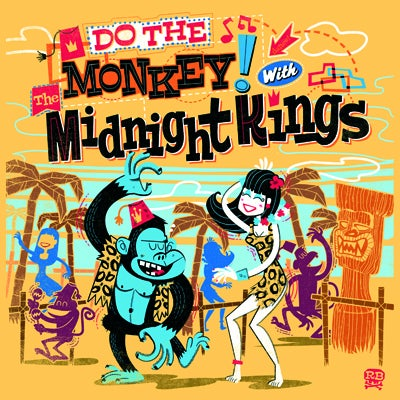 "Image of 7"" - The Midnight Kings ""Do The Monkey With The Midnight Kings"""
