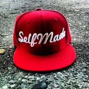 Image of Red SELFMADE Snapback