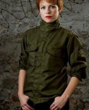 Image of SH07 [THE MIR EAGLE] Fire Resistant Vintage Military Surplus Pilot's Shirt/Jacket