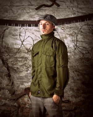 Image of SH06 [PANZERKNACKER]  Fire Resistant Vintage Military Surplus Pilot's Shirt/Jacket