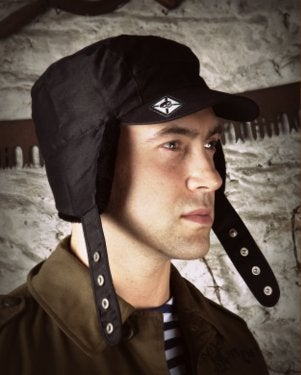 Image of SH74 [BLACK OPS] Cold Weather Convertible Commando Hat - SHIPS FREE TO US and CANADA
