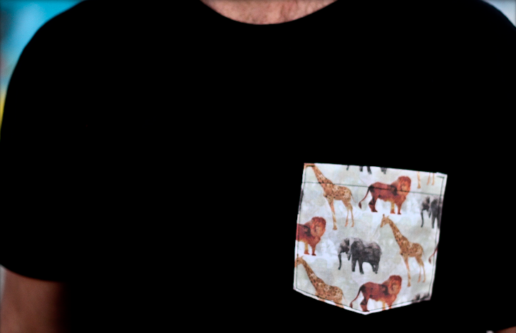 Image of Animal Party Pocket Tee