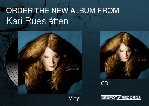 Image of Kari Rueslåtten album Time to tell [VINYL/CD]