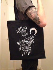 Image of The Howling Wolf-Rat Tote