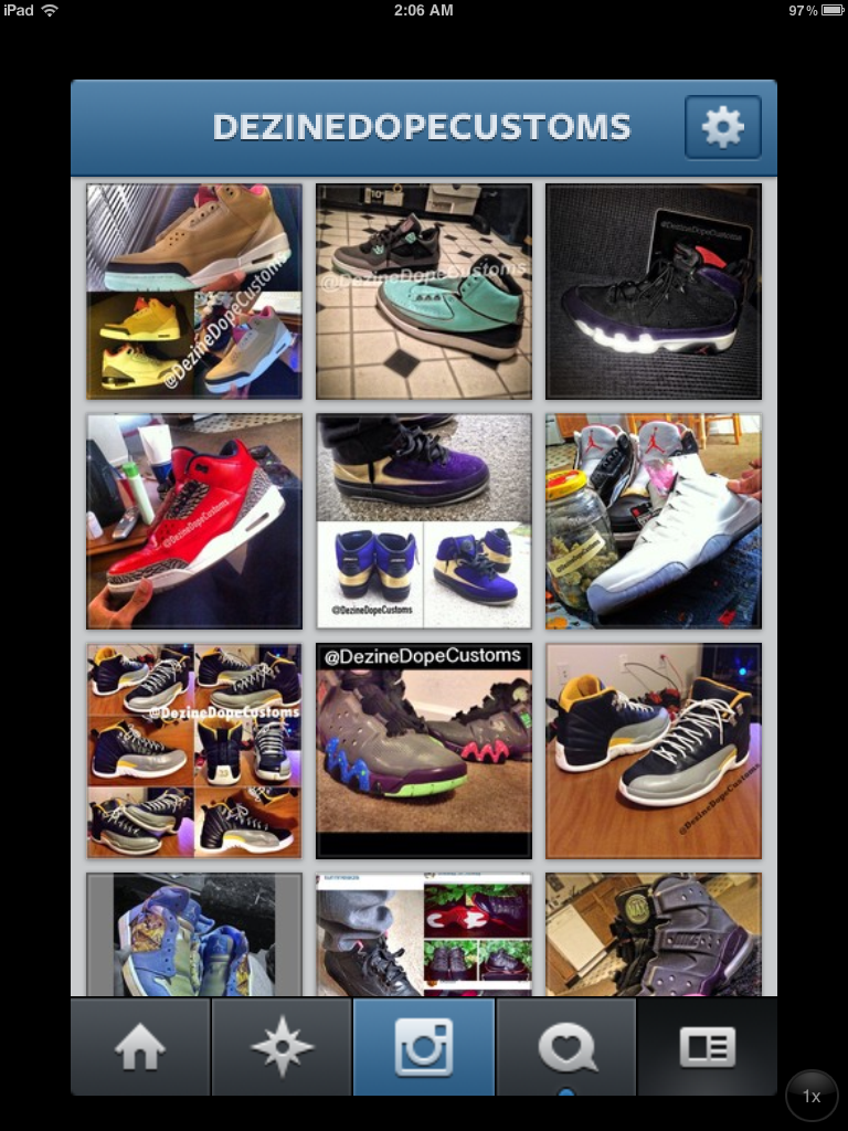 Image of Sneaker Customization
