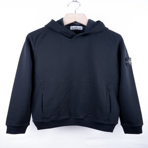 Image of Stone Island - Garment Dyed Techno Fleece Hoodie