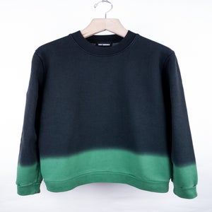 Image of Raf Simons - FW13 Acid Green Gradient Sweatshirt