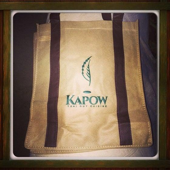 Image of Kapow Tote Bag