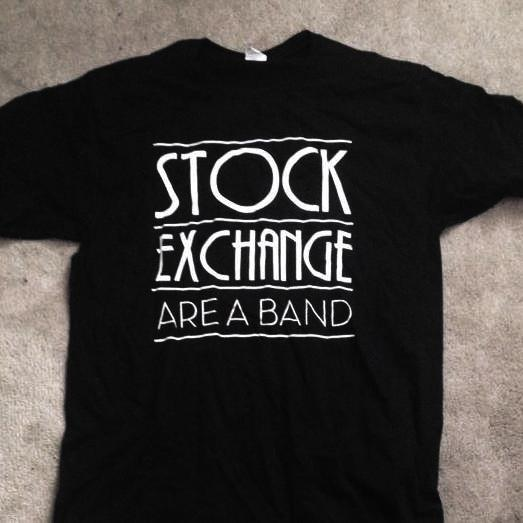 Image of Stock Exchange Are A Band - T shirts (black)