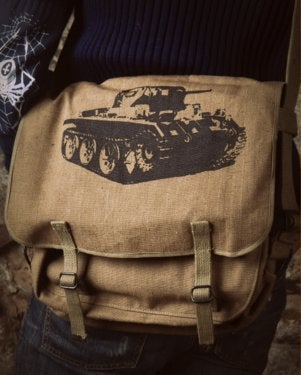 Image of SH90 [PANZER] Vintage Russian Army Shoulder Bag